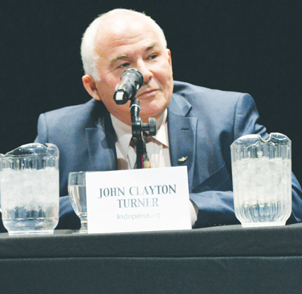 Independent candidate and retired soldier, John Turner was the most vocal critic of the New Veteran's Charter, but also took some fire of his own on his stance on Veteran's Affairs office closures.