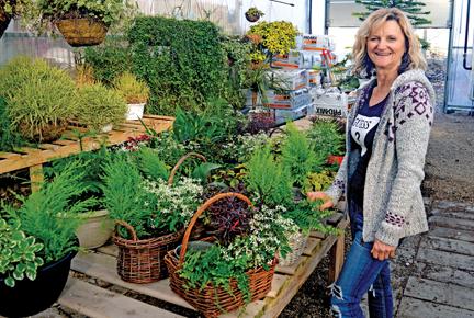Joyce Swaren of Blondies Gift and Garden in Dunmore