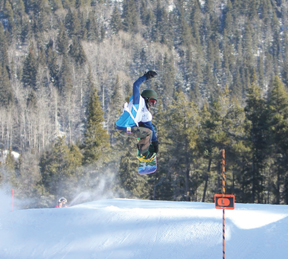 PHOTO SUBMITTED - Redcliff's Ryder Petrick is looking forward to representing Redcliff at the Winter Games.