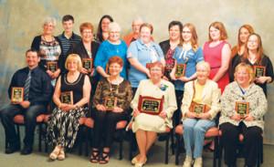 PHOTO BY TIM KALINOWSKI- Group photo of Redcliff's dedicated volunteers
