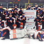PHOTO SUBMITTED BY RANDY HUISMAN- The Bow Island/Foremost Bantam Flyers return home the provincial champions.