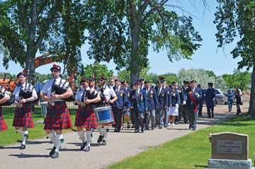 Decoration Day Celebrates Redcliff S Vets Under Sunshine And Blue