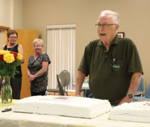 Photo by Jamie Rieger- Glady's son, Gordon celebrated his 85th birthday the same day.